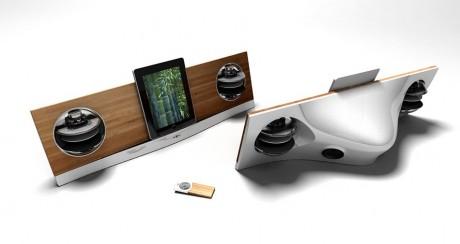 Jean Michel Jarre lancerer iPad-højttaler
