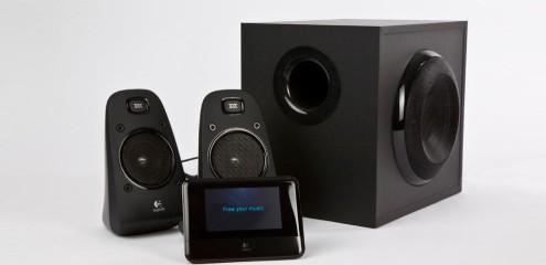 Logitech Squeezebox Touch og Z623