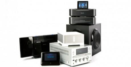 6 kompaktanlæg med streaming