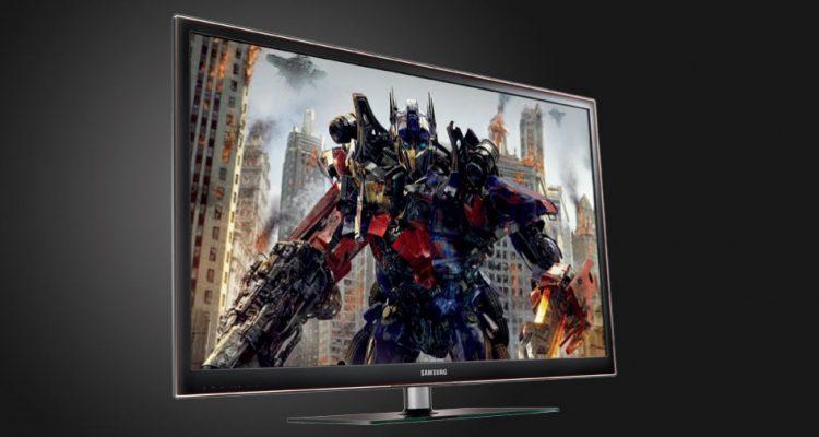 2 store plasma TV