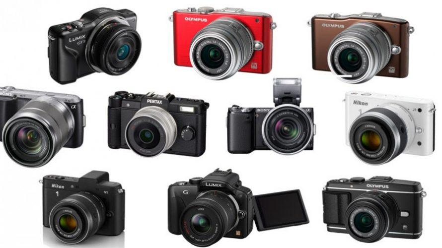 10 kompakte systemkameraer