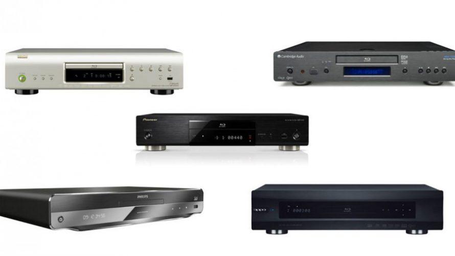 5 Blu-ray afspillere