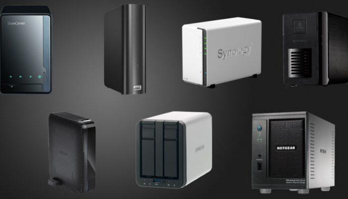 7 netværksharddisker