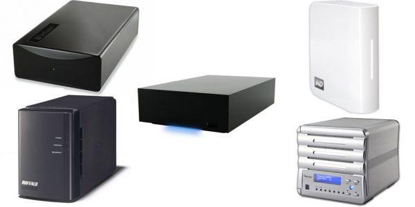 5 netværksharddiske