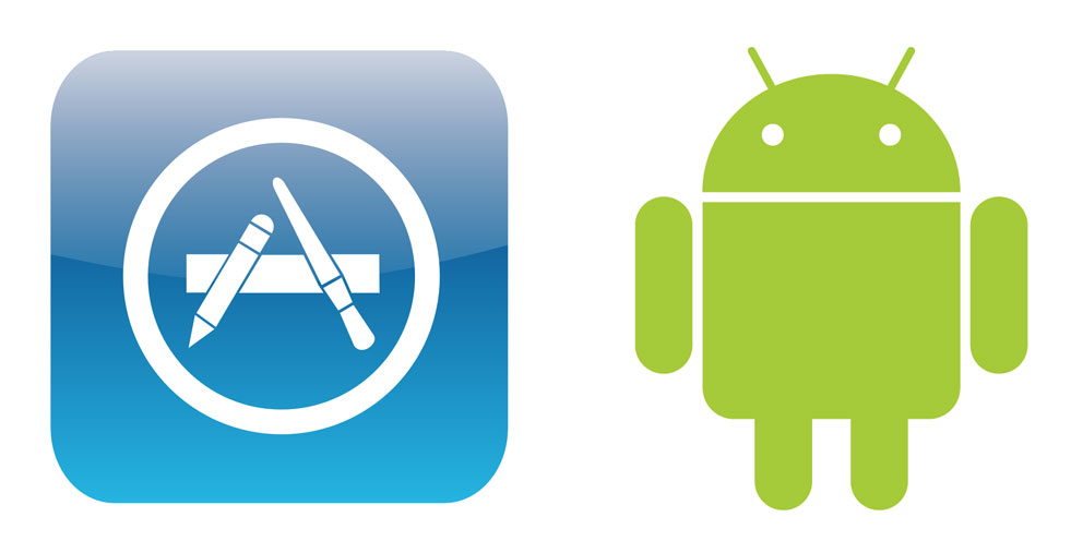 Apple App Store Vs Android Market Lyd Billede
