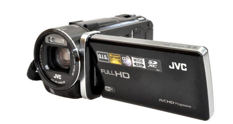 Fem HD-kameraer