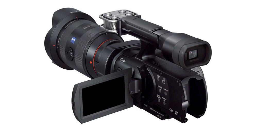 fullframe videokamera fra sony lyd billede. Black Bedroom Furniture Sets. Home Design Ideas