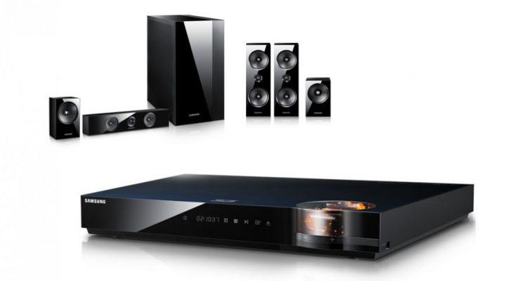 6 surround-anlæg med 3D Blu-ray