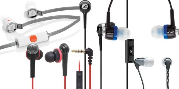8 in-ear hovedtelefoner