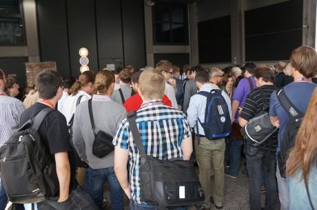 Der var mødt adskillige hundrede journalister op for at deltage i Sonys pressemøde, der traditionen tro åbnede årets IFA-messe i Berlin.
