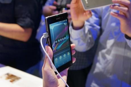"""Xperia Z1 er udstyret med en 5"""" Full HD skærm baseret på Sonys såkaldte Triluminos skærmteknologi, der giver ekstremt skarpe farver, hvilket vi netop har konstateret i vores test af phablet'en Xperia Z Ultra."""