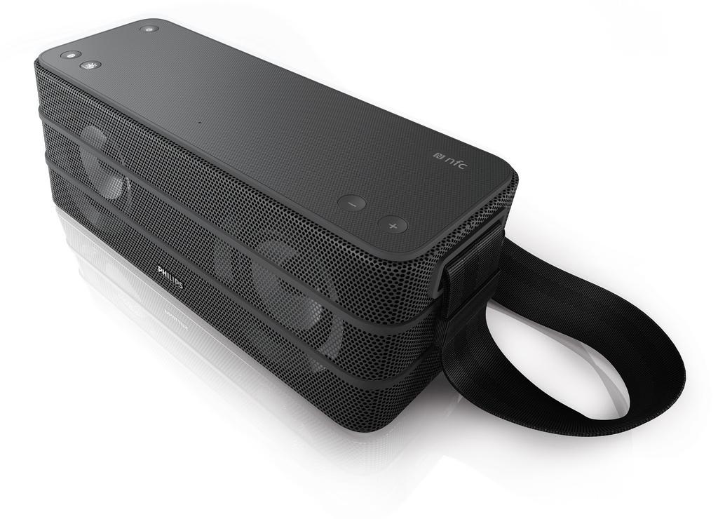 Man viste også et antal Bluetooth-højttalre. Blandt dem den lille  batteridrivne og stænktætte The Dot 5147245c0e6b3