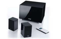 Sonos Connect:Amp + Bowers & Wilkins M-1 og ASW608