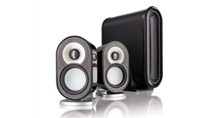 seks 2.1 stereoanlæg med streaming