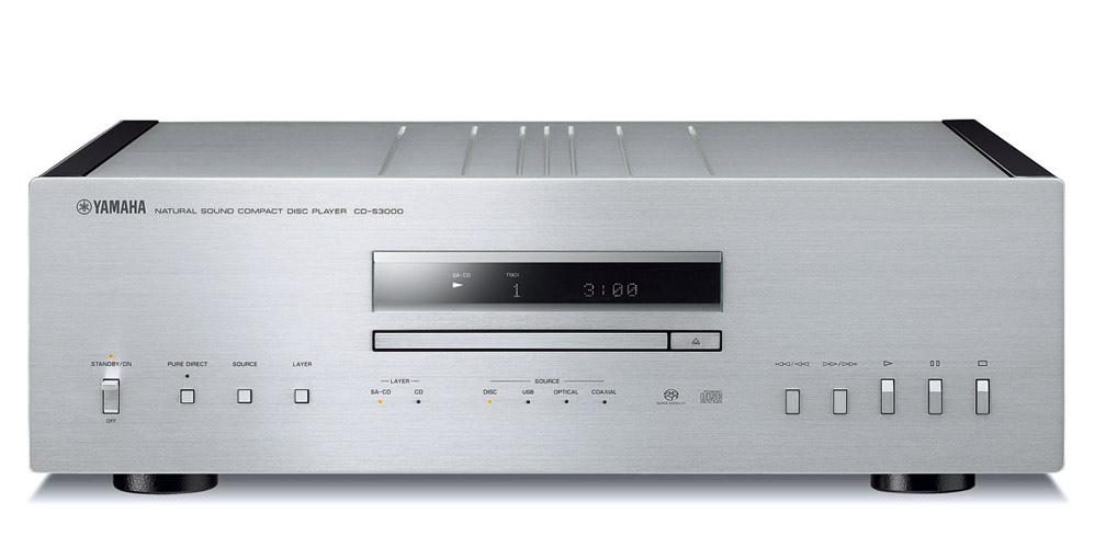 Yamaha_CD-S3000_sølv_front