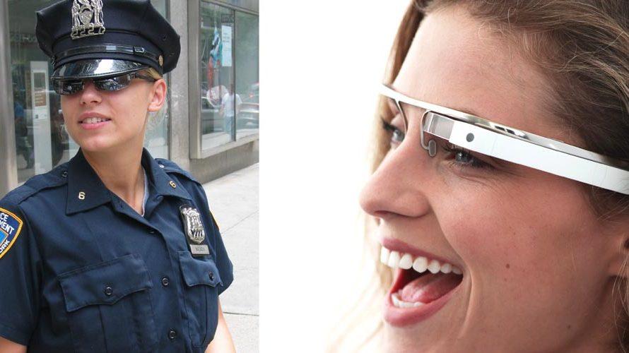 8976a584409e New Yorks politi tester Google Glass - Lyd   Billede
