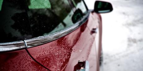 Dørhåndtagene skubbes automatisk ud, når føreren nærmer sig.