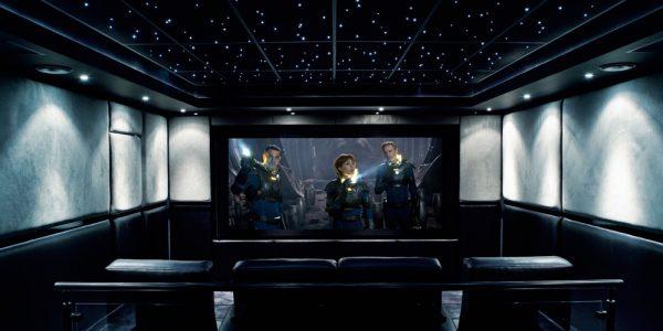 tre førsteklasses projektorer