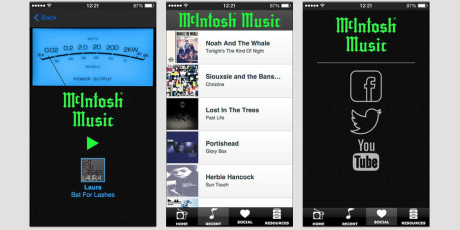 Mcintosh-iphone-player