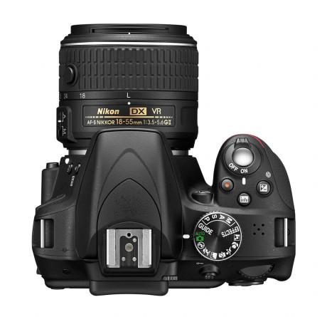 Guide-funktionen er genial til begyndere, som hurtigt kan blive bedre fotografer med Nikon D3300.