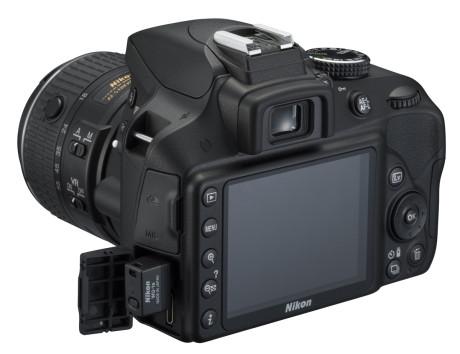 Du skal have en separat sender såsom WU-1a for at bruge Wi-Fi på Nikon-kameraet.