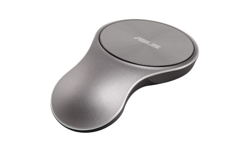 VivoMouse kunne være en rekvisit fra Star Trek. Den kan bruges både på et bord og frit i luften.