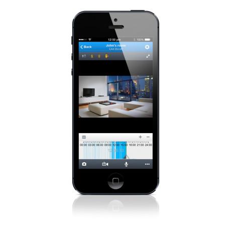Lyd og billede app