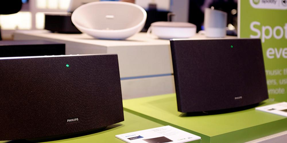 Spotify-højttalere fra Philips