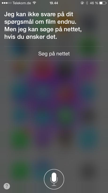 Siri på dansk har stadig en del begrænsninger.