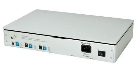 Op til tre apparater kan strømforsynes fra sPS-1000.