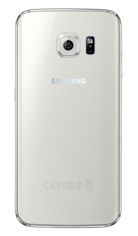 Samsung Galaxy S6 Edge_Back_White Pearl
