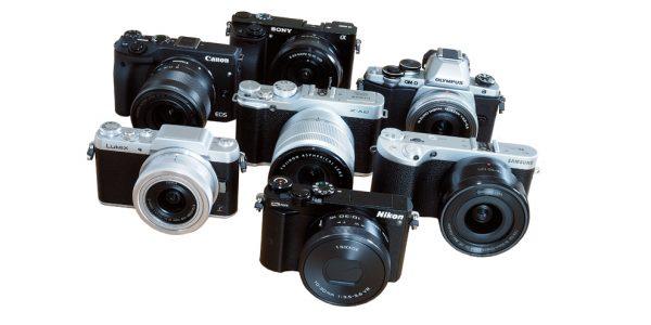7 systemkameraer