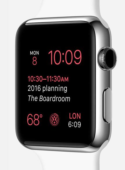 Time Travel på Apple Watch. Foto: Apple