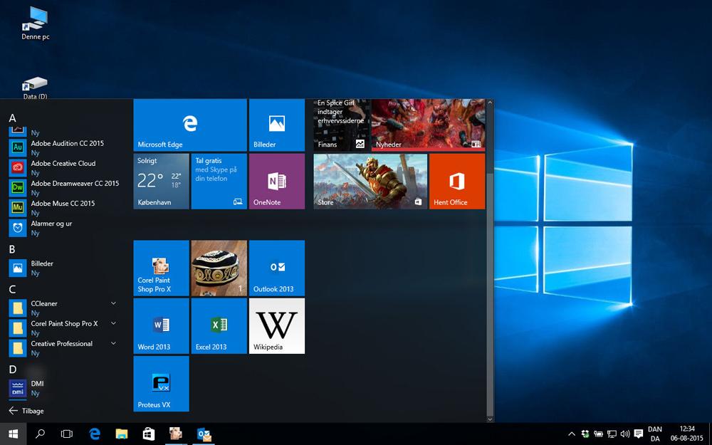 hvorfor kan jeg ikke få windows 10