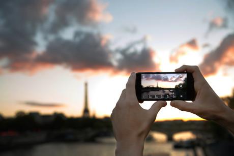 Kameraet i HTC One A9 kan gemme billeder i RAW-format. Foto: HTC
