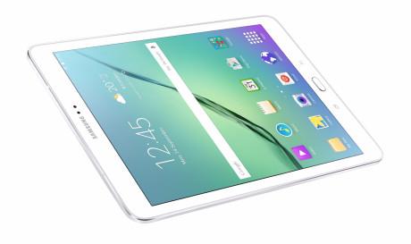 Her er så den nye iPad .... øh Galaxy Tab S2 fra Samsung. Foto: Samsung