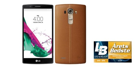LG G4 leather brown front+back