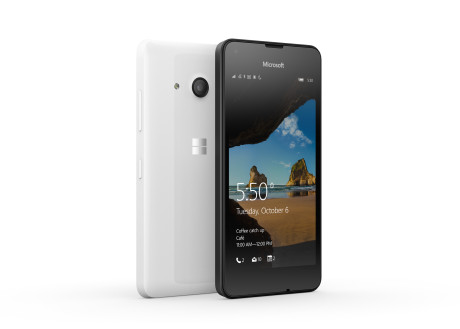 Microsoft Lumia 550 til blot USD 139 i USA. Dansk pris kender vi ikke endnu. Foto: Microsoft