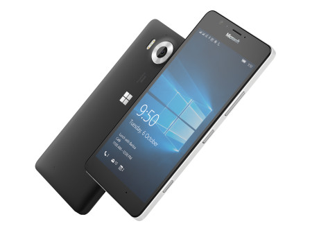 Microsoft Lumia 950. Foto: Microsoft