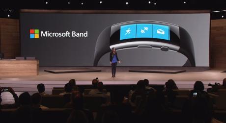 Det nye Microsoft Band kommer heller ikke til Danmark. Foto: Microsoft