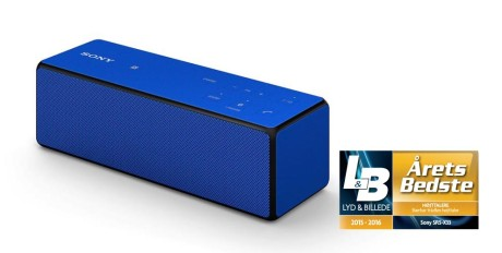 Sony SRS X33 blue slant