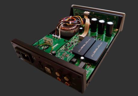 Konverteringen sker med samme specialkreds som i den kostbare Pavane-DAC. Foto: Metrum Acoustics