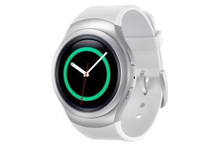 Samsung Gear S2 i minimalistisk design er tænkt som seriens sportsmodel. Foto: Samsung