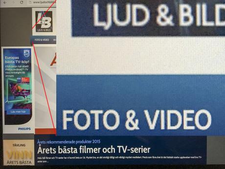 iPad Pro Retina-skærm. Foto: Jonas Ekelund, Lyd & Billede