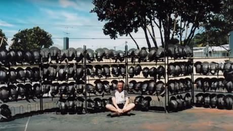 """I """"Ringenes Herre"""" var tingene klar i god tid. Som disse orkhjelme, der var færdige et år før optagelserne. Foto: Weta Workshop"""