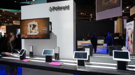 Polaroid har - igen - genopfundet sig selv. De havde tablets, smart-ure og droner(!) med deres navn på. Foto: John Alex Hvidlykke