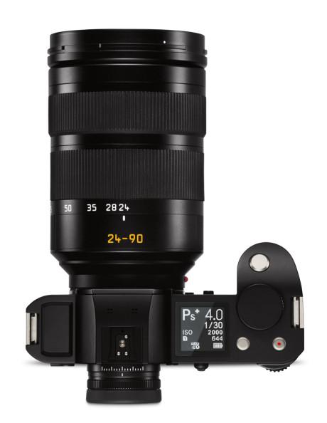 Med Leica SL-zoomen bliver kameraet temmelig stort og tungt. (Foto: Producent)