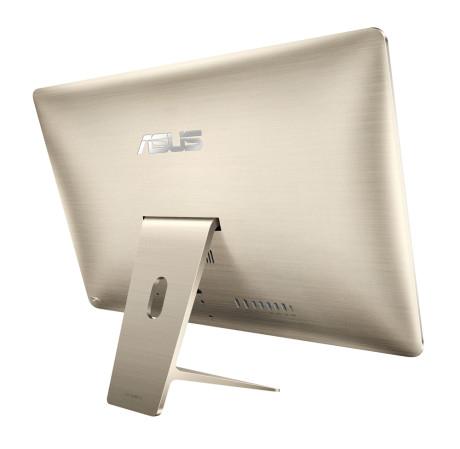 ASUS har skelet kraftigt til Apple i designet. Bortset fra navnetrækket kunne det her have været bagsiden af en iMac. Inklusive de bløde kurver og rækken af porte. Foto: ASUS