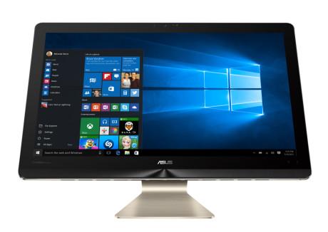 Skærmen er stor som et kaffebord, højopløst – og touch-følsom. Foto: ASUS