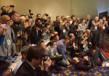 Nikons topkameraer var ventet med længsel af fotografer. Foto: John Alex Hvidlykke, Lyd & Billede